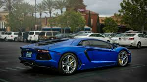 Blue Lamborghini Aventador - blue lamborghini aventador lp 700 4 wallpapers and images