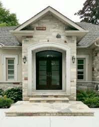 matching woodgrained entrance garage doors this picture shows the