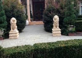 lion statues marble lion statues marble statuary carved animal