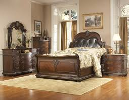 Home Bedroom Furniture Furniture Modern Bedroom With Window Treatments And Homelegance