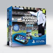 football manager classic 2014 will be scoring a sporty vita bundle