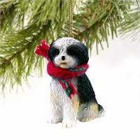 shih tzu ornaments by yuckles
