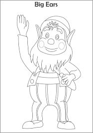 noddy colorpages7