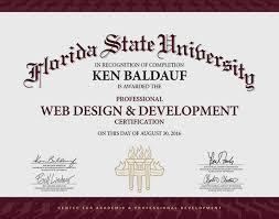 online design of certificate web design certificate online programs web designer certification