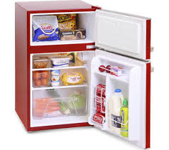 under cabinet fridge and freezer buy montpellier mab2030r undercounter fridge freezer red free