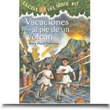 Magic Treehouse - vacaciones al pie de un volcan the magic tree house books