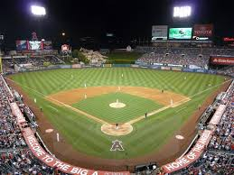 How To Build A Baseball Field In Your Backyard Angel Stadium Los Angeles Angels Ballpark Ballparks Of Baseball