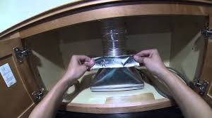 microwave with exhaust fan how to install a microwave hood with exhaust fan diy youtube