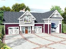 House Plans With Rv Garage by Garage And Carport Plansranch House Plans With In Front Bungalow