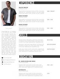 Creative Resume Free Templates Creative Resume Templates Free E Commercewordpress