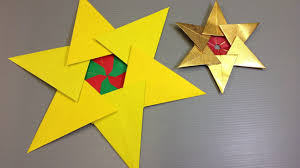 easy origami christmas tree star youtube