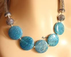 gemstone beads necklace images Short necklace short gold chain necklace jpg