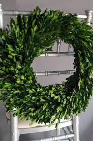 wreath preserved round boxwood wreath 16in