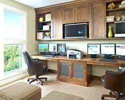 2 Person Desk For Home Office Home Office Ideas For Two Home Office Furniture Computer Desk Best
