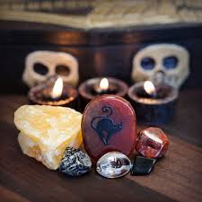 stones of halloween gem set for communication with spirit realm