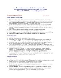 Canada Resume Template Sample Resume Teacher Canada Augustais