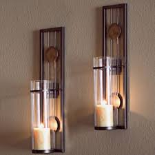 Wall Mounted Candle Sconce Candle Sconces Wall Mount Candle Sconce Holder Iron Metal Set