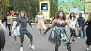 columbus zoo thriller dance youtube