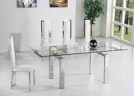 clear dining room chairs glass dining tables and chairs second hand top modern glass dining
