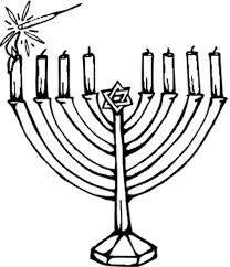 hanukkah candles hanukkah candle coloring pages coloring page