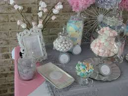 communion favor ideas silver white and pale pink communion party ideas photo 5