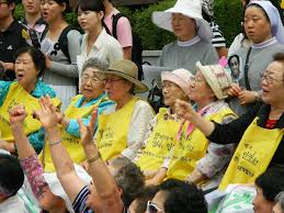 Comfort Women Japan File Comfort Women Rally In Front Of The Japanese Embassy In
