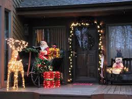 Lighted Santa Sleigh Reindeer Set by Lighted Outdoor Santa Sleigh And Reindeer 12 Sastisfying Outdoor