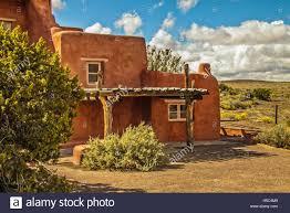 adobe house new mexico native american adobe buildings stock
