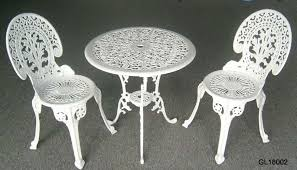 Iron Patio Table Set Small Iron Patio Table Chairs Patio Furniture Conversation