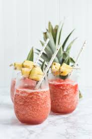 coconut pineapple rum slush the sweetest occasion