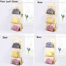 aliexpress com buy 5 pockets hanging storage bag organizer