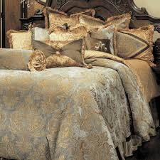 Elegant Comforters And Bedspreads Elizabeth Luxury Bedding By Michael Amini Bedding Collection From