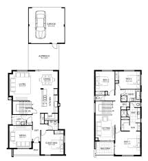 2 Storey Modern House Floor Plan Double Storey 4 Bedroom House Designs Perth Apg Homes