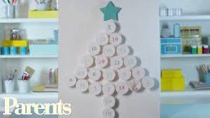 how to make a homemade christmas advent calendar parents youtube