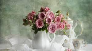 Lotus Flower Tea - flowers tea roses flowers pink time life still lotus flower