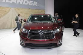 toyota new suv car 2014 toyota highlander revealed in new york live