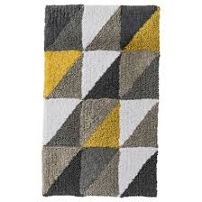 Yellow Bathroom Rugs Gray And Yellow Bathroom Rugs Decorating Clear
