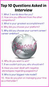 best 25 pageant questions ideas on pinterest pageant interview