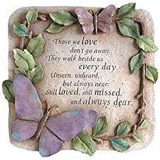 memorial stepping stones evergreen garden those we don t go away