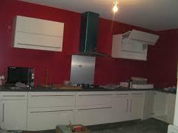 cuisine mur framboise mur couleur framboise et gallery of deco cuisine galerie photo