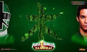 green power symbol power rangers samurai power