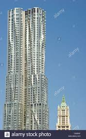 new york by gehry skyscraper by architect frank gehry 8 spruce
