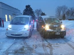 nissan leaf in snow too cold for evs