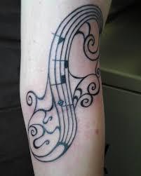 tattoo 9i music notes tattoo