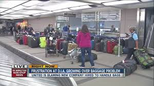 united baggage delayed luggage issues continue for united airlines passengers at