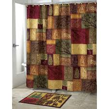 Bathroom Shower Curtain Set Shower Curtain And Rug Set With Pattern Style Plus