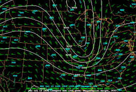 Winds Aloft Map Labs For Oct 96 Case