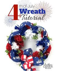 4th of july wreaths 30 amazing 4th of july wreath ideas for your door