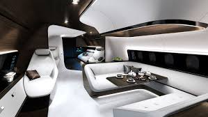 future mercedes interior mercedes dreams up a swanky interior for private jets wired