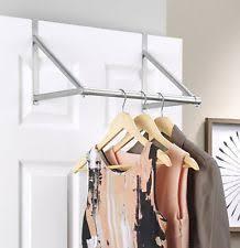 hanging clothes rack ebay